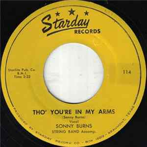 Sonny Burns - Tho' You're In My Arms Album Download