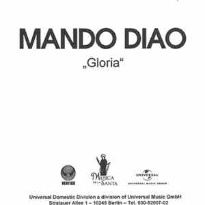 Mando Diao - Gloria Album Download