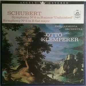 "Franz Schubert, Otto Klemperer, Philharmonia Orchestra - Symphonies No. 5 In B Flat And No. 8 In B Minor (""Unfinished"") Album Download"