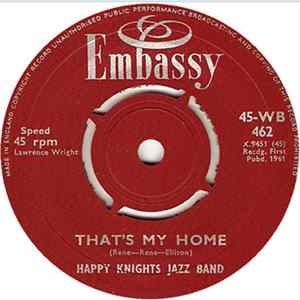 Happy Knights Jazz Band / Bud Ashton - That's My Home / Kon-Tiki Album Download