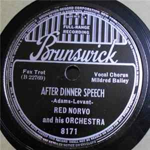Red Norvo And His Orchestra - After Dinner Speech / A Cigarette And A Silhouette Album Download